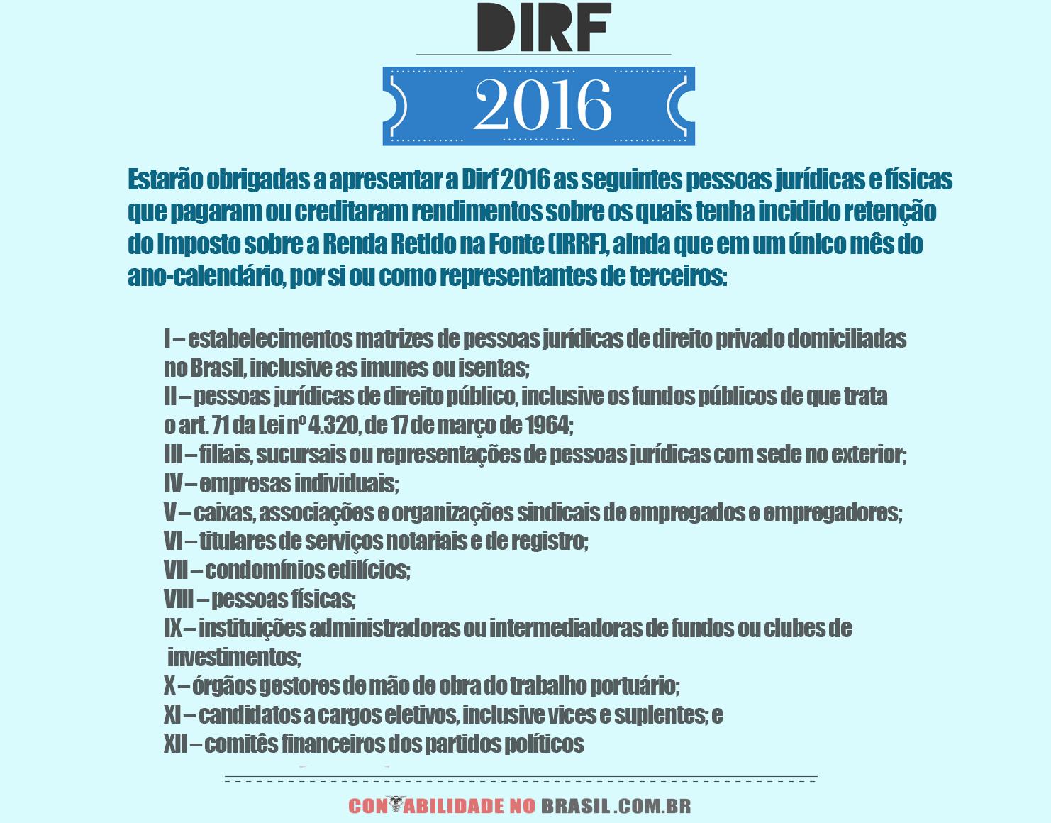 dirf-2016-obrigação