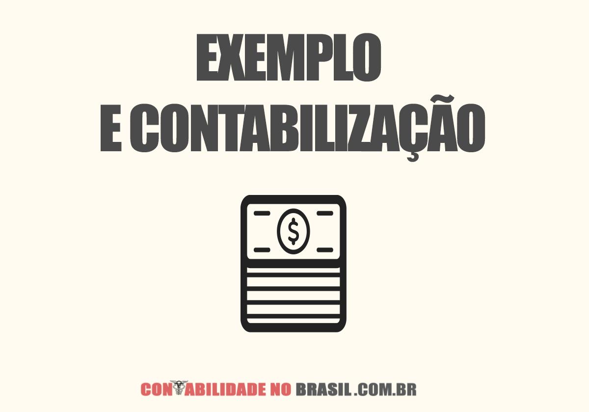 Exemplo e Contabilização Contrato Mútuo